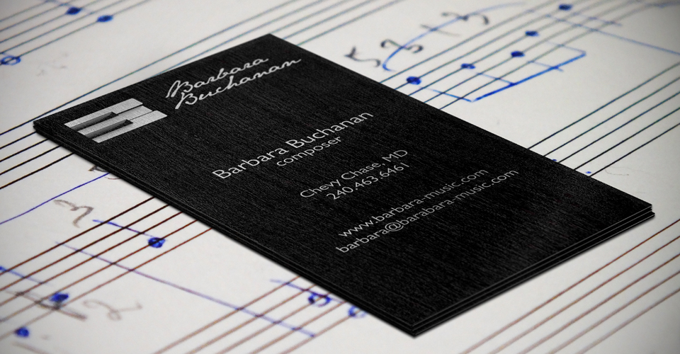 Barbara Buchanan business card