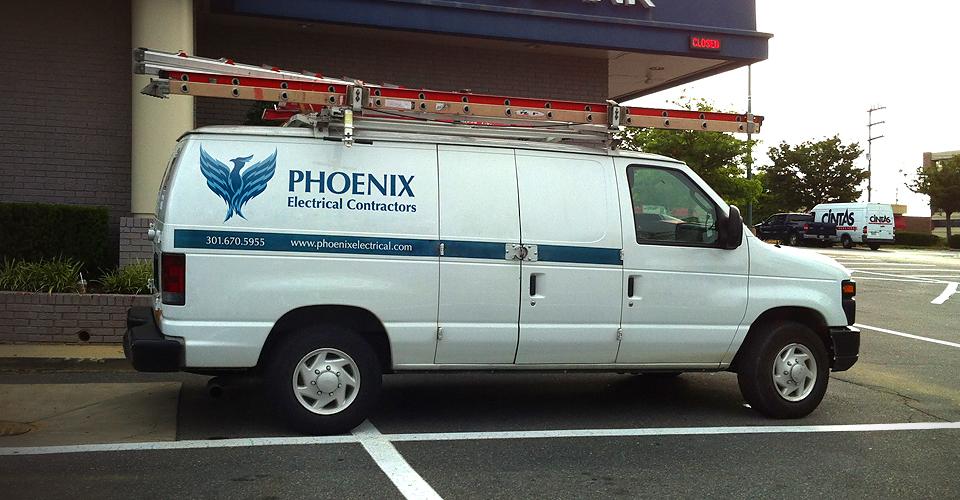 Phoenix Electrical vehicle graphics