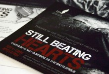 Still Beating Hearts postcard