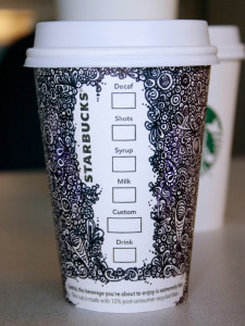 Starbucks Doodle Cup - © Steph Doyle