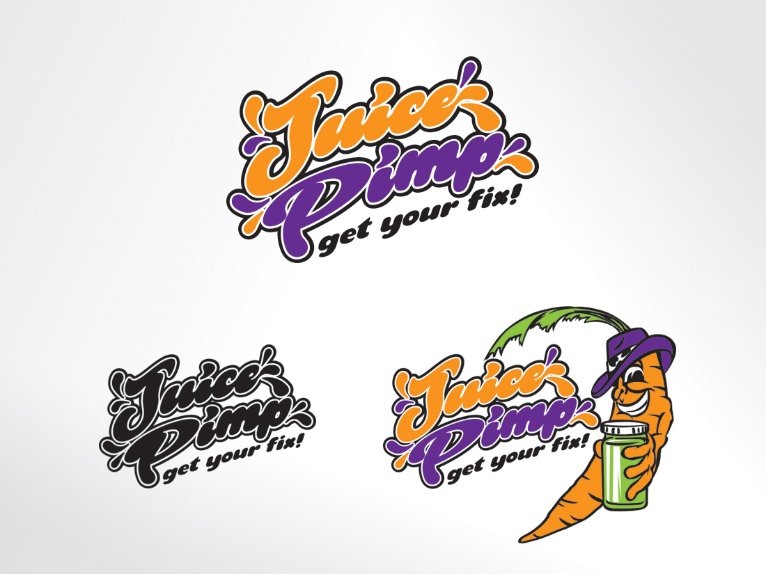 01 Juice Pimp - logos